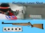 Lasergewehr-Schießen